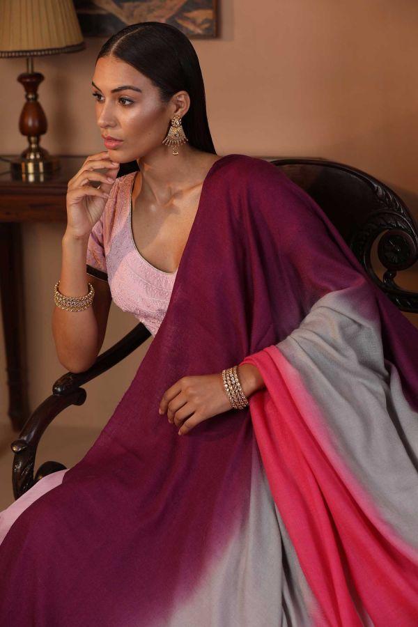 Colours Of Love Ombre Pashmina Shawl
