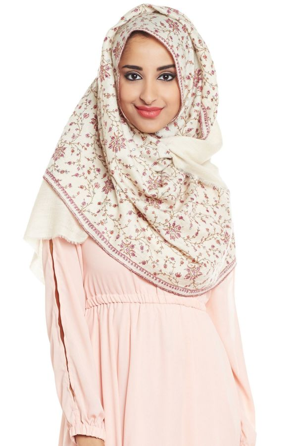 The Frosted Fire Garden Hijab