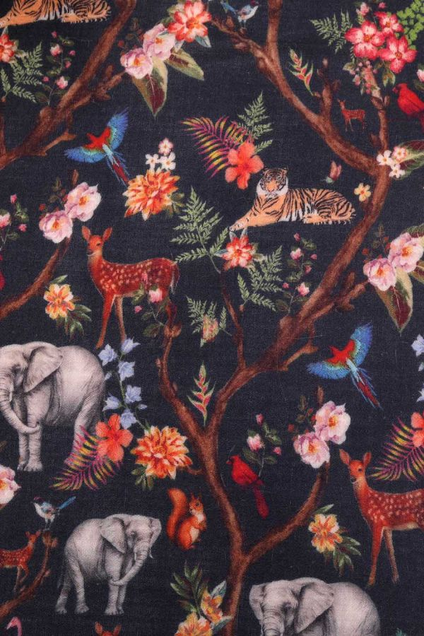 Natural Affair Printed Cashmere Wrap | Pure Pashmina