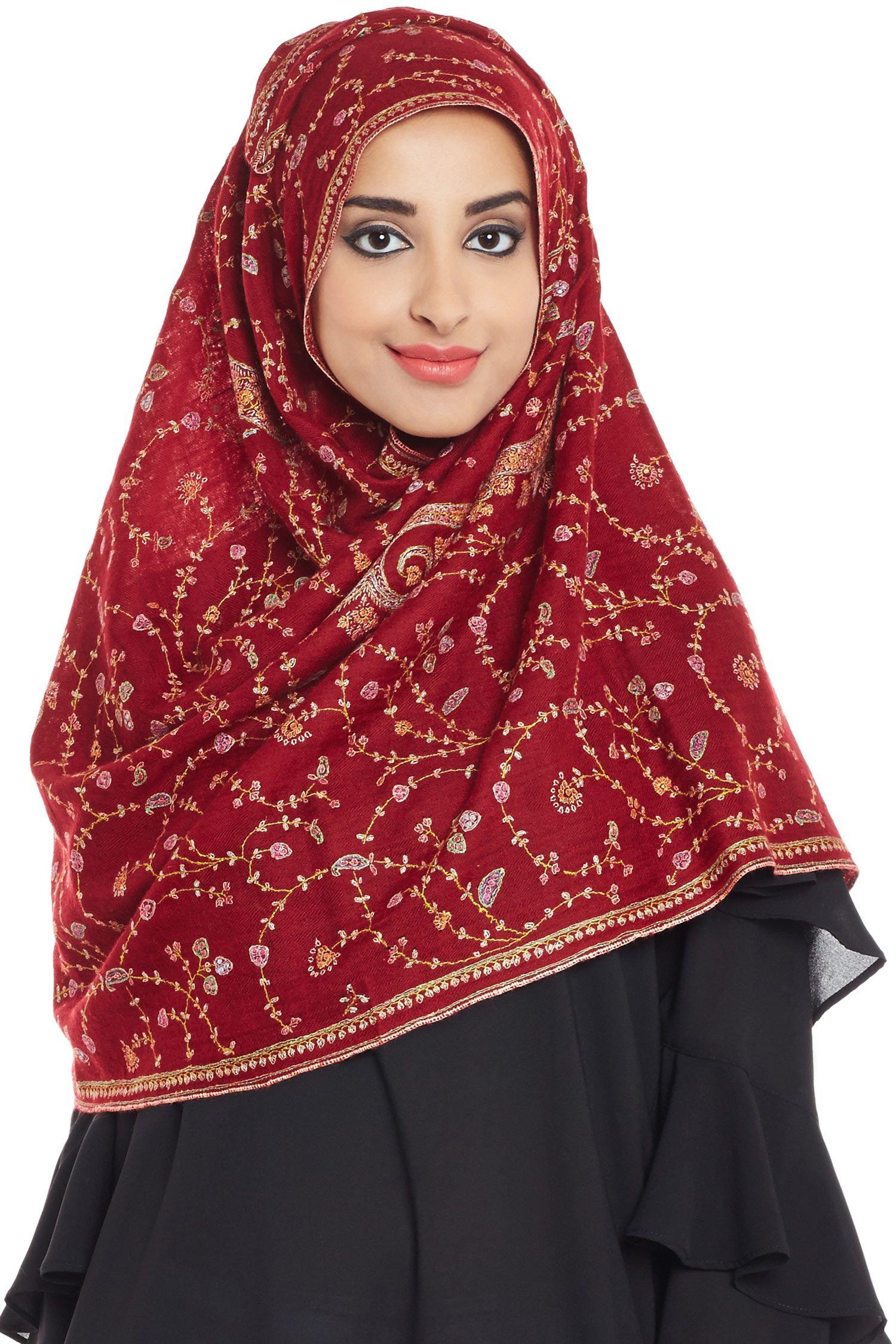 The Elongated Paisley Hijab