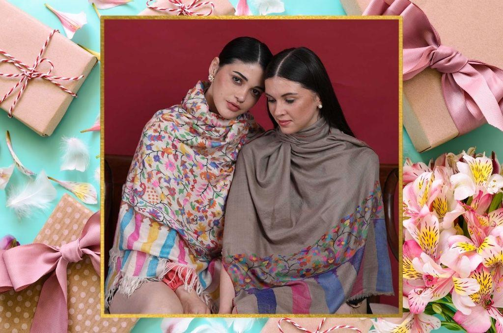 Anniversary Gifts | Cashmere Wraps for Her