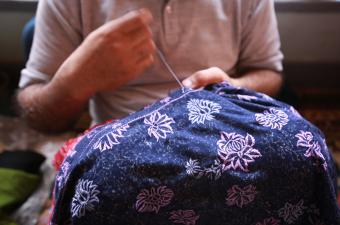 5 types of hand embroideries for Kashmiri shawls