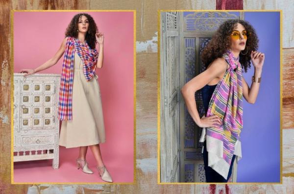 10 ways to wear a Pashmina